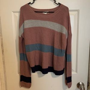 Striped Colored Sweater